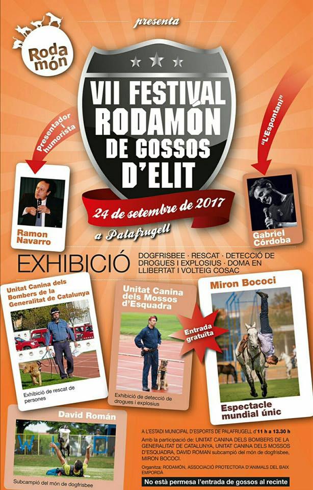 FESTIVAL RODAMÓN DE PERROS DE ELITE